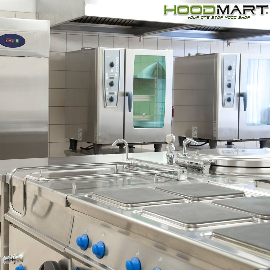 Fume And Grease Ventilation Is Critical To The Restaurant And Food Service Industry Commerical Kitchen Commercial Range Hood Food Service Industry