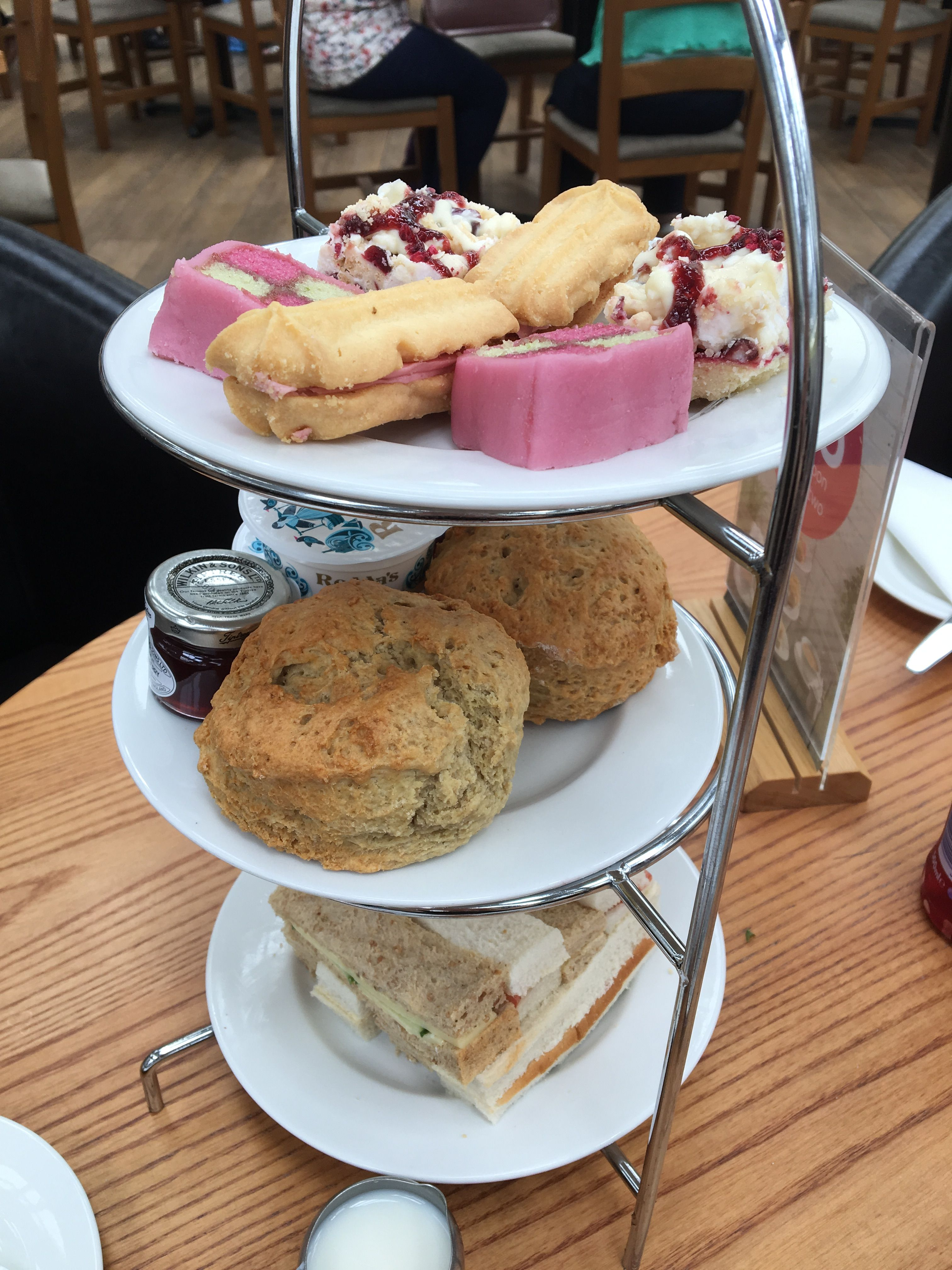 Best afternoon tea you can buy definitely 16