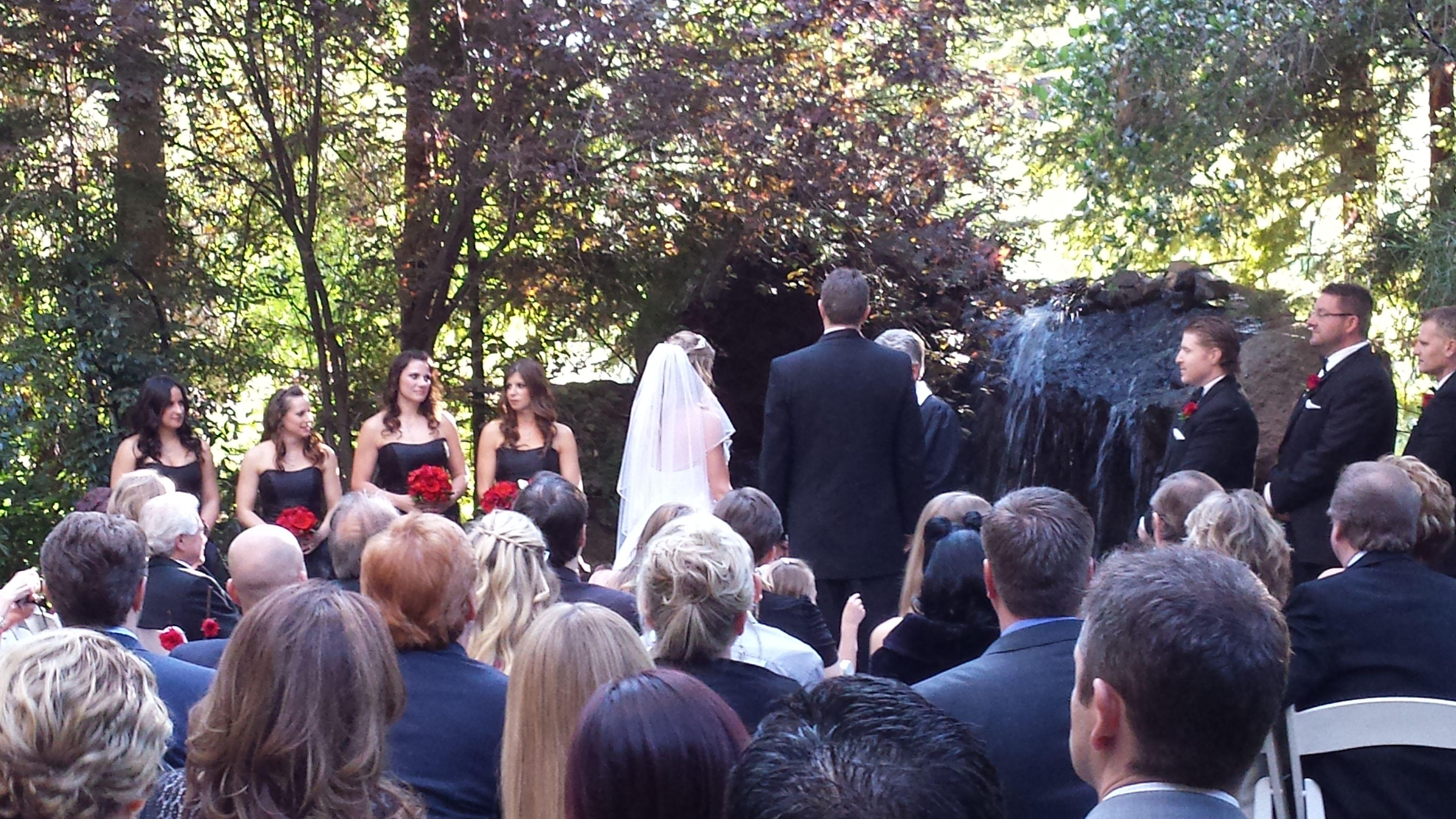 Calamigos Ranch Wedding venue has many locations to choose