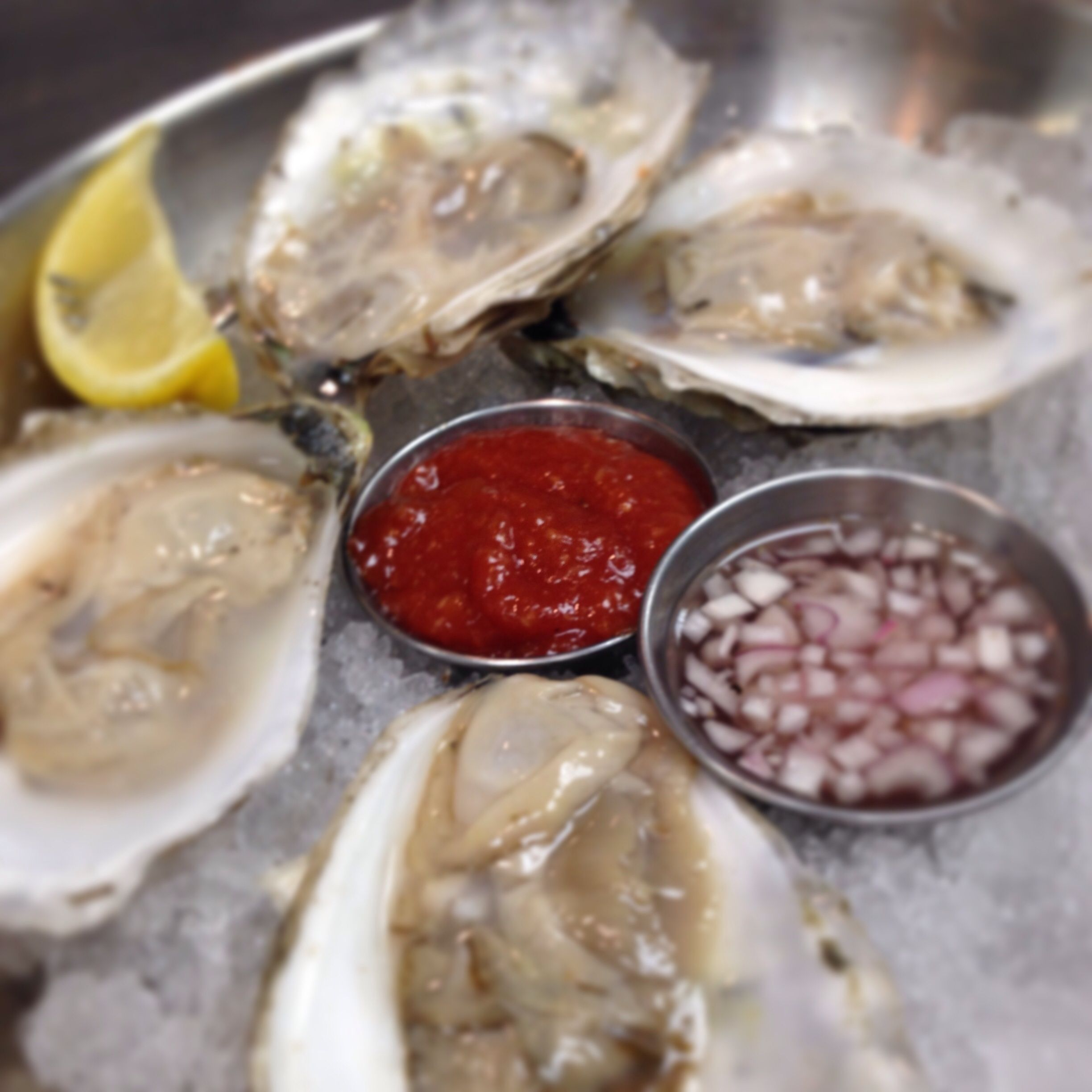 Getting ready for tonight's special menu for pre-valentines day @burtonsgrill @Derby Street Shoppes #burtonsgrill #oyster @Island Creek  #local #dinner #shellfish #restaurant #fresh #seafood #valentinesday #hingham @hinghampatch