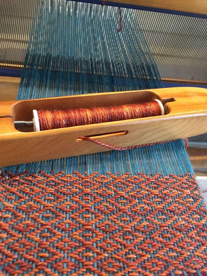 Photo of 2/2 twill. 100% merino warp, seawool weft. Berwick Weaving Co.