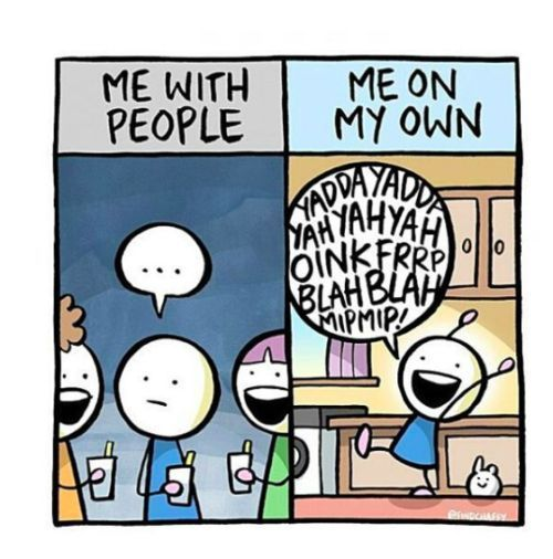 Latest Funny Life 10 Most Relatable Introvert Illustrations - Life Reaction 10 Most Relatable Introvert Illustrations - Life Reaction 1