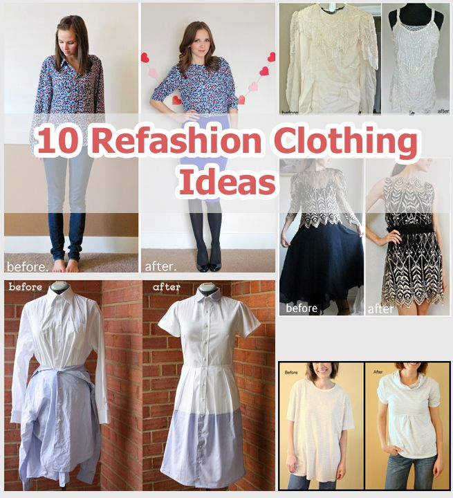 Old clothes into new clothes