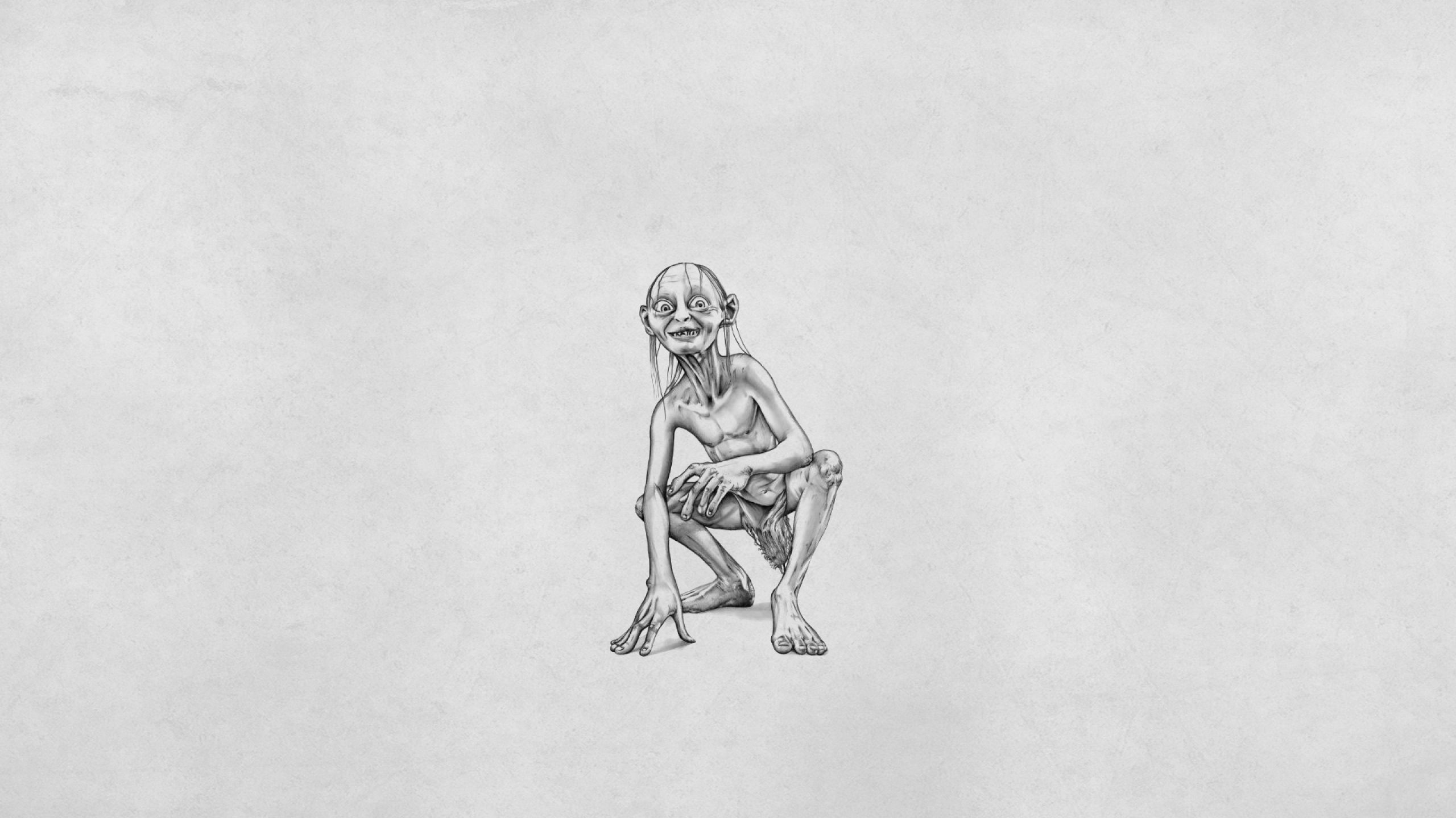 the_lord_of_the_rings_gollum_white_background_minimalism_90514_2560x1440.jpg (JPEG-Grafik, 2560 × 1440 Pixel) - Skaliert (54%)