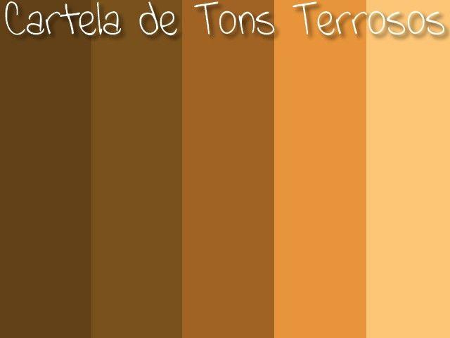 Resultado de imagem para paleta de cores terrosos