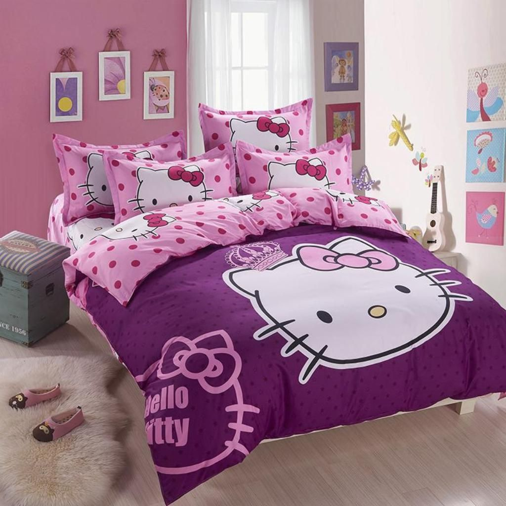 Bedroom Ideas Hello Kitty Soft Bedroom Colors Childrens Turquoise Bedroom Accessories Bedroom Decorating Ideas Gray And Purple: 15+ Ideas About Hello Kitty Bedroom Decor And Makeover