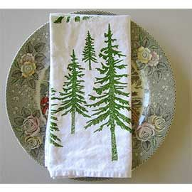 Cotton Dinner Napkins, Green Mountain #clothnapkins