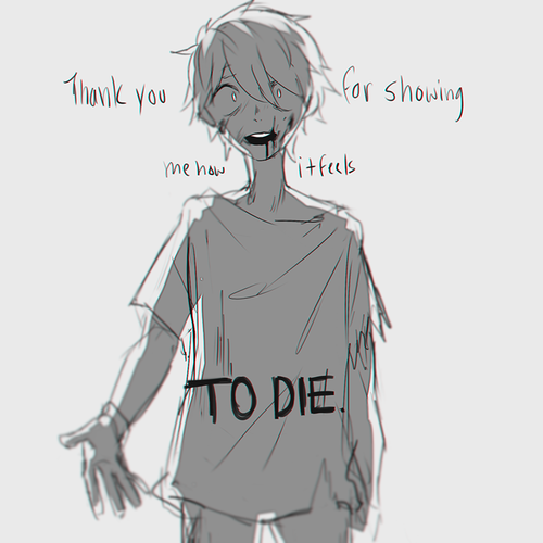 anime depression tags for this image include anime sad
