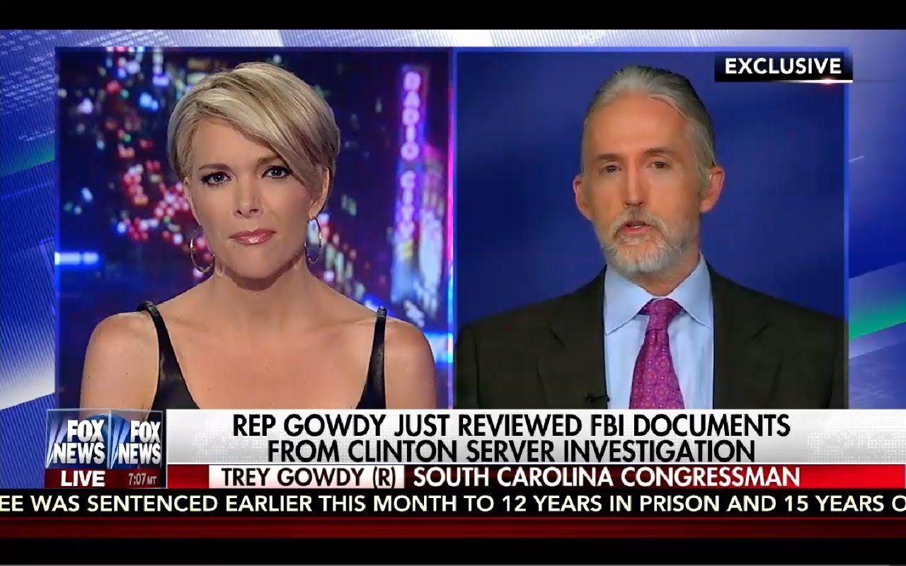 Kelly File 8/24/16 Full: Trey Gowdy on FBI Clinton Documents, Julian Ass...