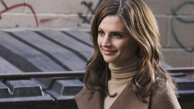 Detective Kate Beckett Rockin Burberry