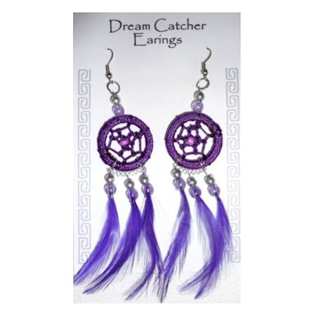 Dreamcatcher Earrings Dreamcatchers Pinterest Dream Catcher New Dream Catcher Earrings Online