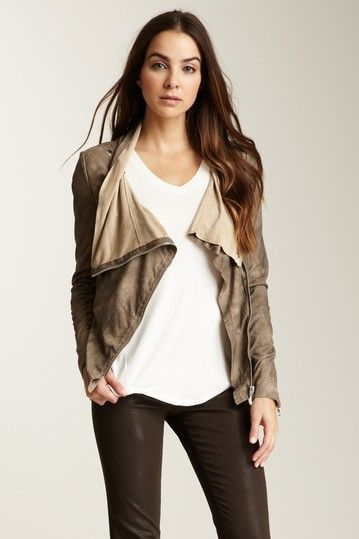 Muubaa  Alexis Suede Jacket:: gorgeous and it's 66% off!