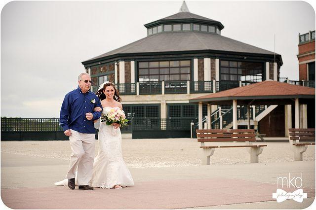 #RI #Wedding - Easton's Beach Rotunda - Catering by B&M Catering