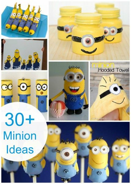 30 MINION Ideas! Assemble The Minions!! Art And Crafts