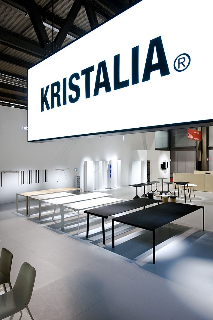 Salone Internazionale del Mobile  Milano 2013 - Kristalia #milanfair #table