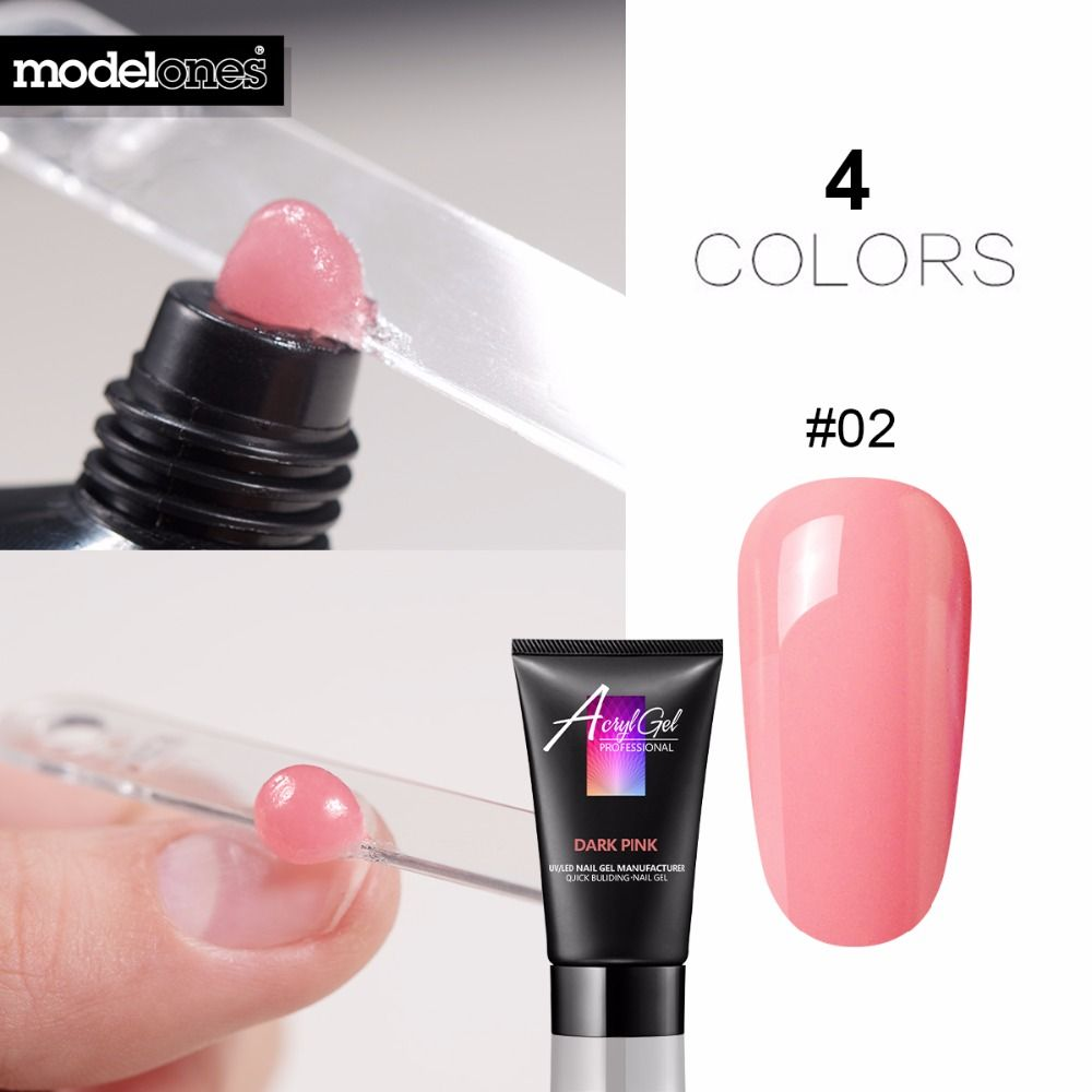 Kupowac Modelones 30g Krysztal Extend Led Uv Nail Gel Builder