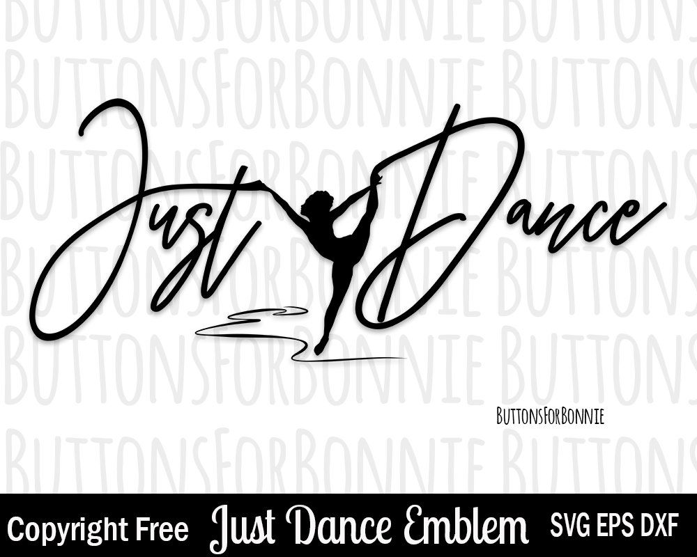 INTRICATE DESIGN DANCER //DANCERS LEAPING W //VINE DRESS SILHOUETTE DIE CUT //CUTS