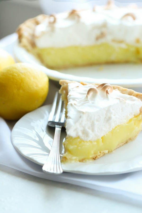 Lemon Meringue Pie on SixSistersStuff.com