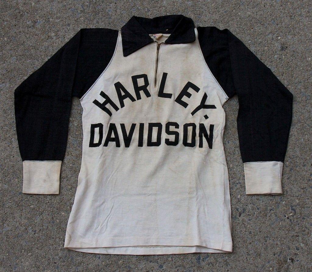 031d07140 Vintage Harley Davidson Racing Jersey | STYLE | Vintage harley ...