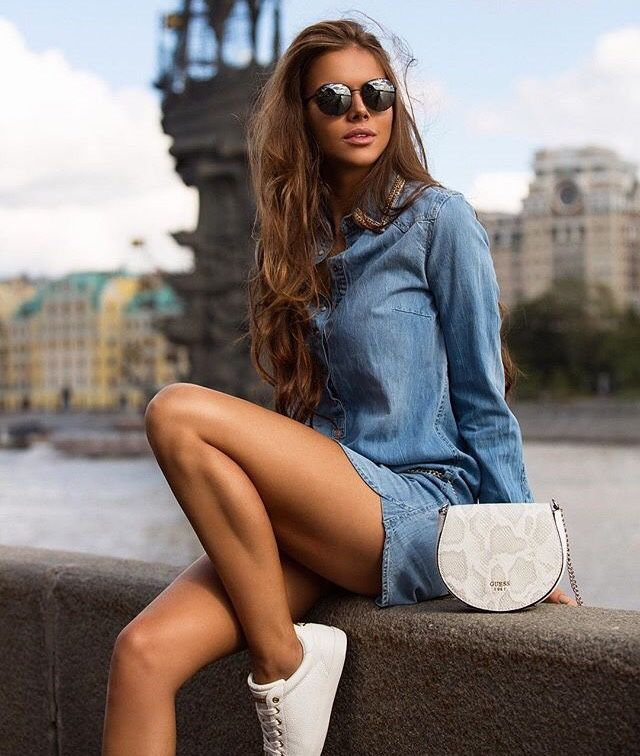 Viki Odintcova — Viki odintcova | Viki odintcova, Fashion, Guess ...