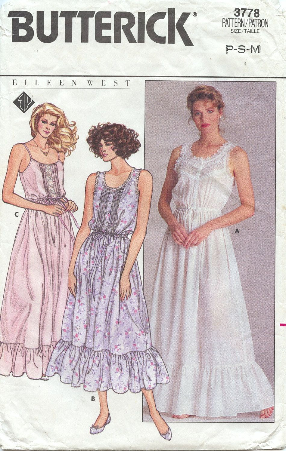 Nightgown Pattern Unique Decorating