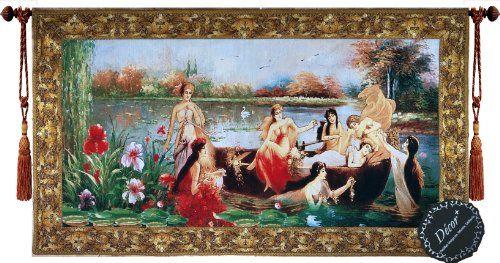 [Free Shipping] Beautiful Ladies Fine Tapestry Jacquard Woven Wall Hanging Art Decor Decor Plus http://www.amazon.com/dp/B00H6YGWVY/ref=cm_sw_r_pi_dp_Wdxhwb0VX98BD