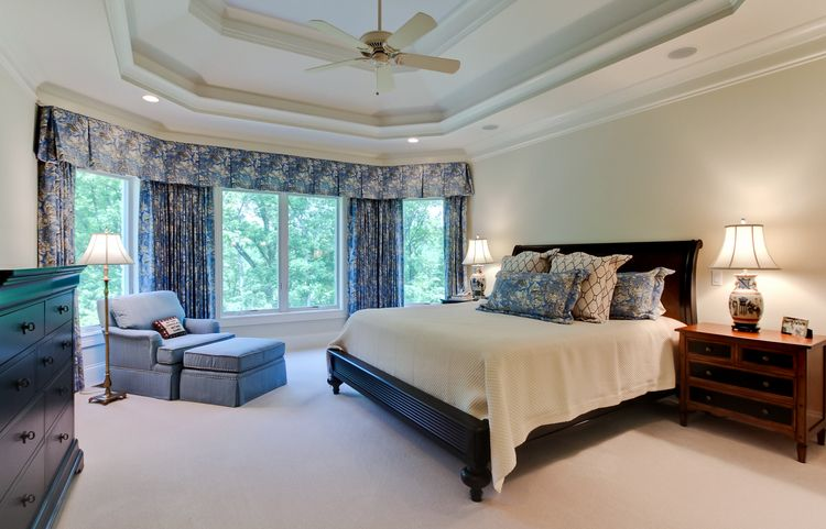 Best First Floor Master Suite Bedroom With Ceiling Treatment 640 x 480