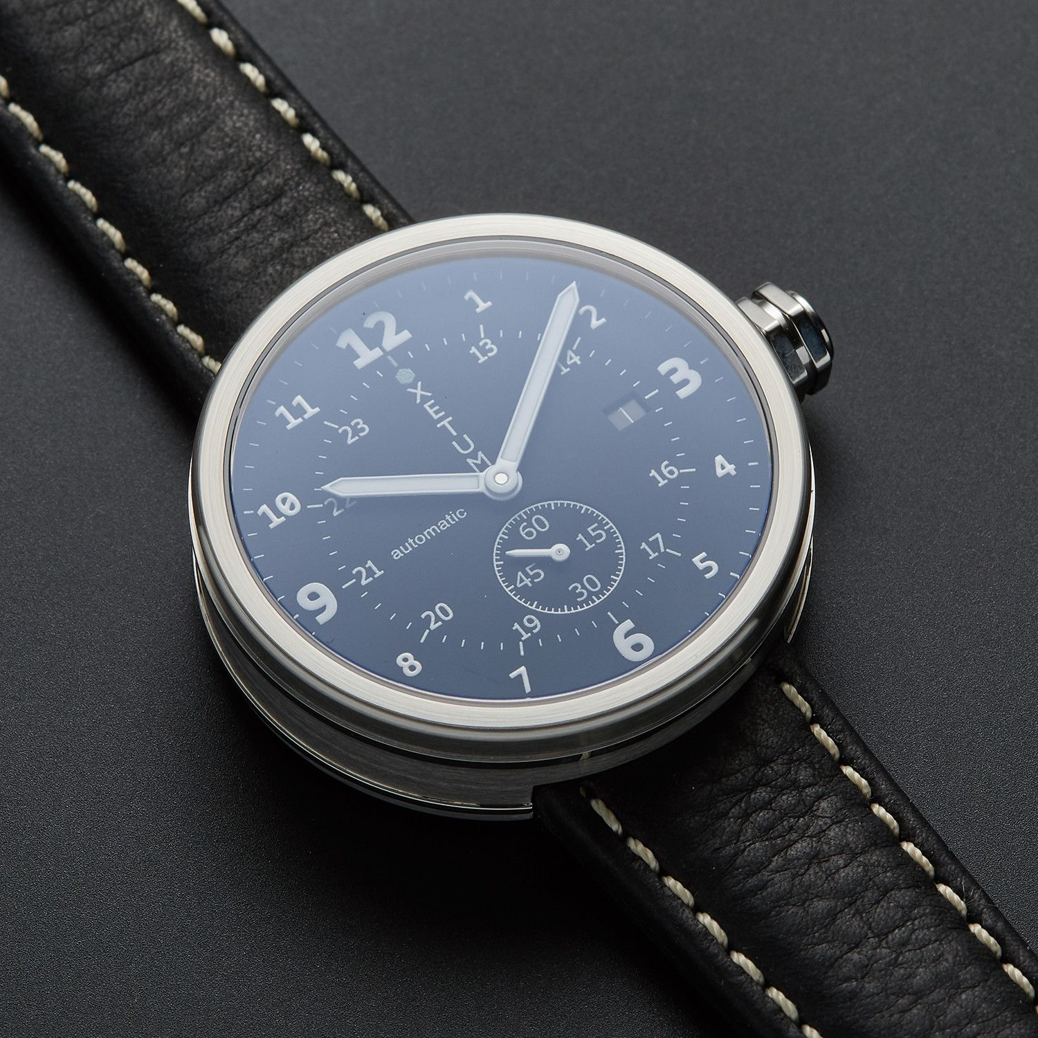 Xetum Tyndall Automatic A2 Fedtn Blends Instrument Modern Watch Modern Watches Swiss Automatic Watches Vintage Watches