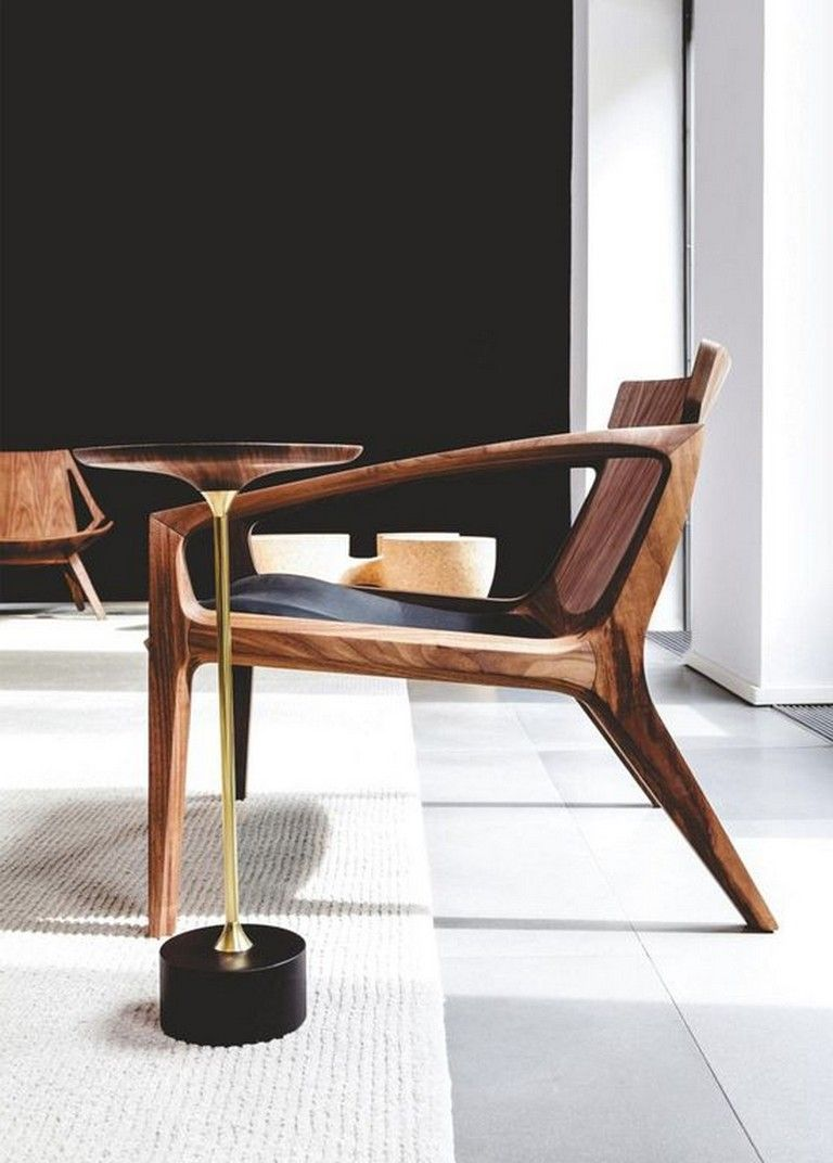20 Classy Wooden Chair Design Ideas For Living Room Wood Chair