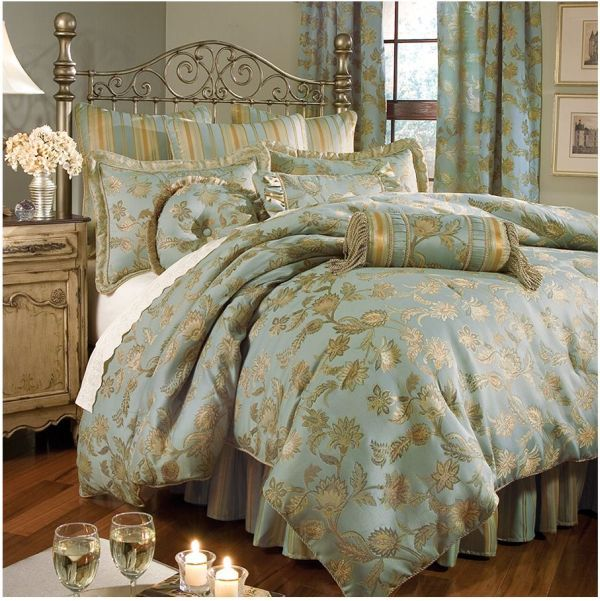 American Century Home Darlene Bedding Coordinates By Home Decorating Trends French Country Bedding King Comforter Sets Comforter Sets