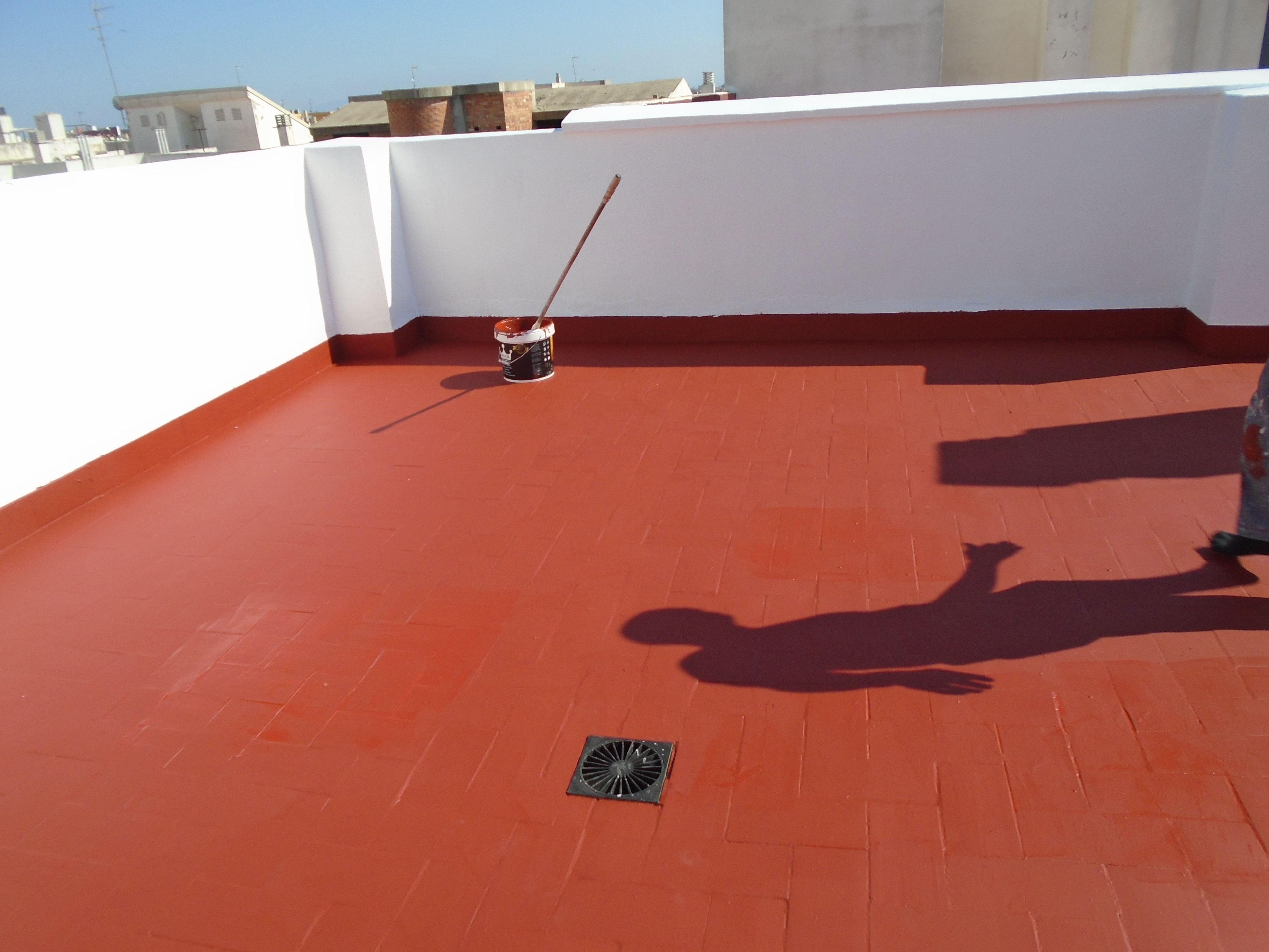 Impermeabilizacion De Terrazas En Valencia Mediante Trabajos Verticales Www Solvertvalenci En 2020 Impermeabilizante Para Techos Impermeabilizacion De Techos Terrazas