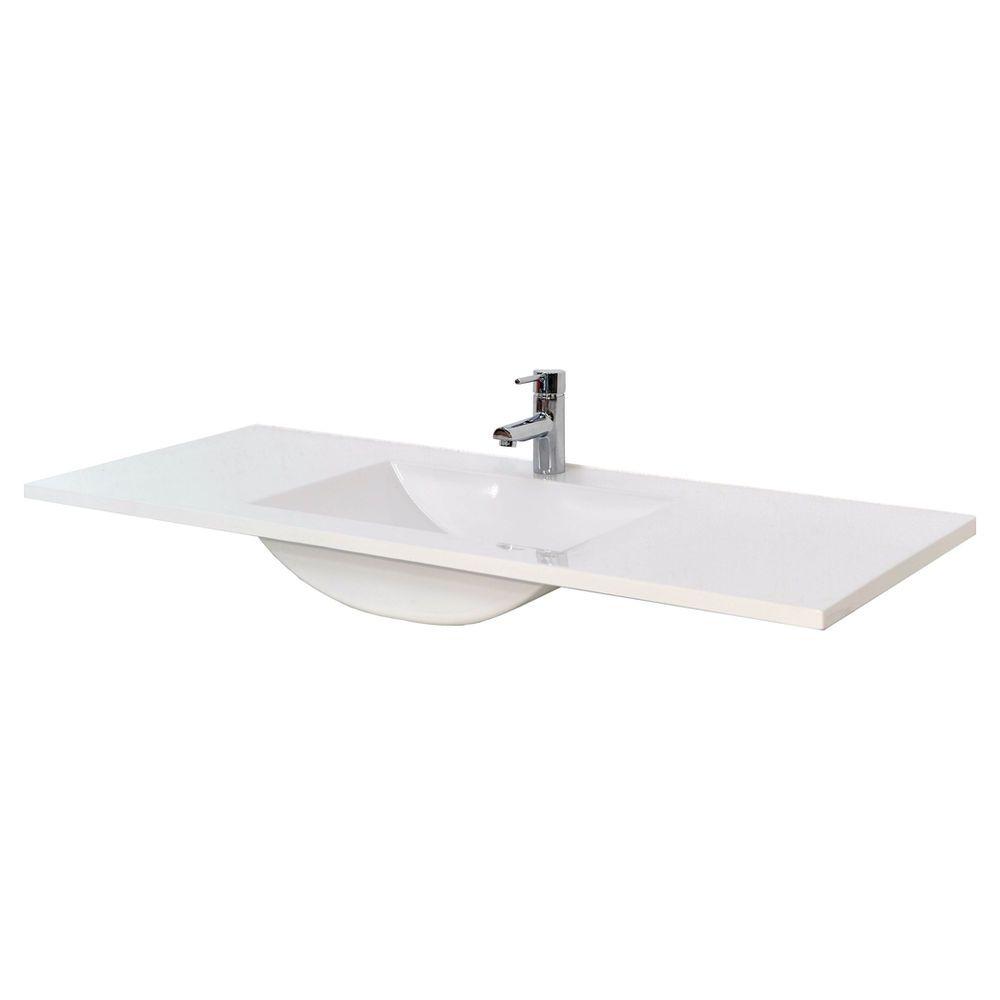 finlay & smith low profile 1 hole vanity basin 1200mm
