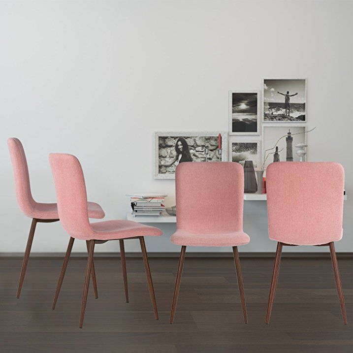 Esszimmer Stühle Coavas Stoff Kissen Küche Stühle mit stabilen ...