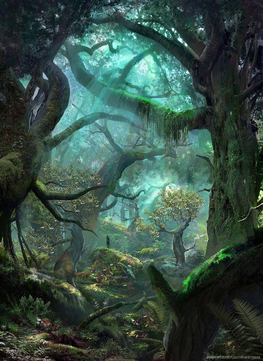 ArtStation - Journey 01, Kamila Szutenberg | Fantasy ...