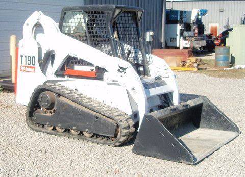 Wengers Of Myerstown >> BOBCAT T190 COMPACT LOADER OPERATION MAINTENANCE MANUAL | Bobcat, Construction equipment, Repair ...