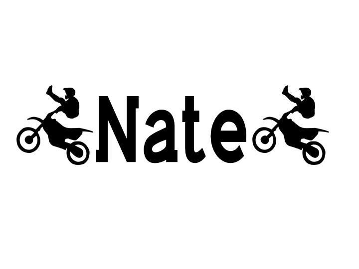 Personalized boys name custom wall decor removable vinyl decal.
