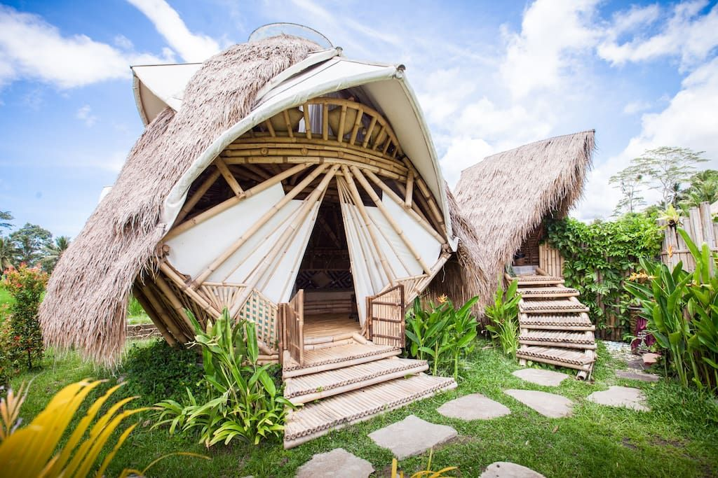 NewEarth Haven - Amethyst Crystal Eco Dome - Dome houses for Rent in Ubud, Bali, Indonesia