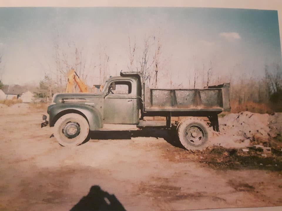1947 ford 3 ton dump truck ridgeway ontario canada 22 500 obo you are looking at an extremely hard to find all original 1 trucks dump truck classic cars 1947 ford 3 ton dump truck ridgeway