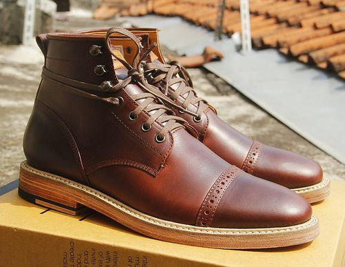 Custom Captoe boots from Chevalier (an Indonesia based Bootmaker)