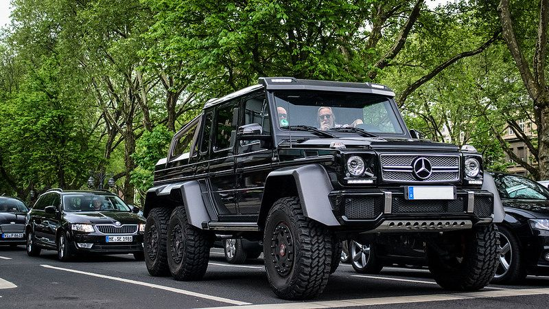 Mercedes Benz G 63 Amg 6x6 With Images Benz G Mercedes