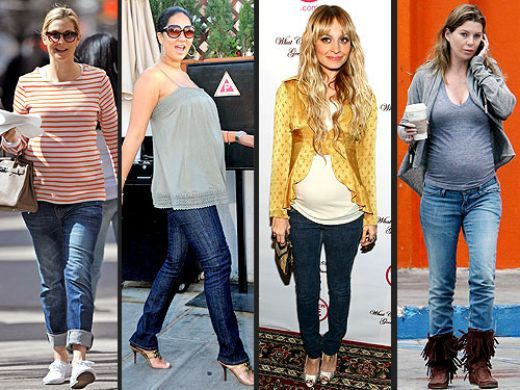 Wearing Trendy Maternity Jeans During Pregnancy | To be, Stylish ...