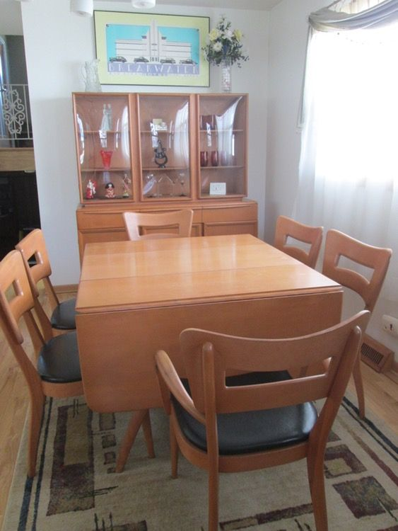 Heywood Wakefield Dining Set Must Sell By 6 30 Modern Dining