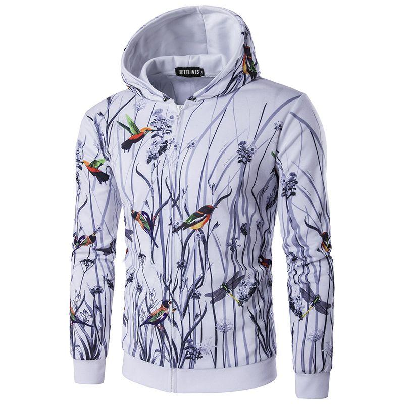 >> Click to Buy << Mens 3D Hoodies Sweatshirt Hip Hop Streetwear Casual Hoody Jacket Men Long Sleeve Slim Tracksuit Outwear B3509 #Affiliate