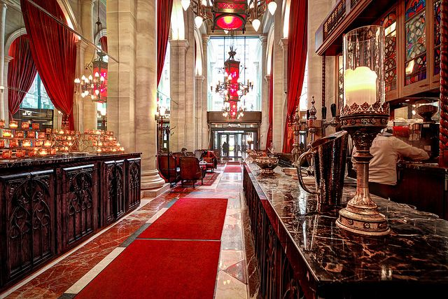 http://www.insidebusinessnyc.com - #VirtualTours of Le Parker Meridien's Knave, Norma's, and Burger Joint - #NYC #Restaurants