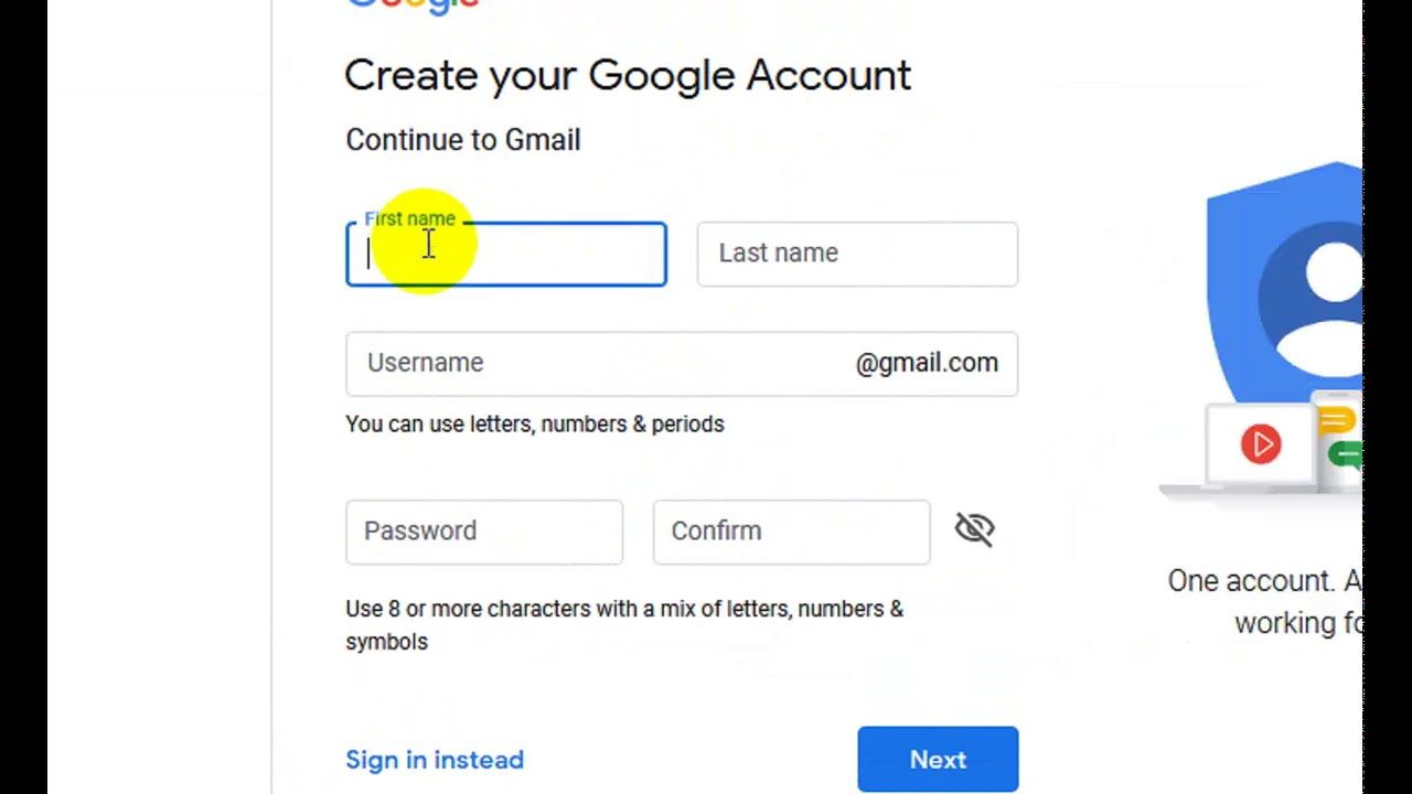 Techvblog How To Create Professional Gmail Account On Google How To Accounting Videos Tutorial Google Account