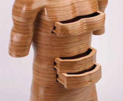 Peter Rolfeu0027s Sculpted Wood Human Form Dressers   If Itu0027s Hip, Itu0027s Here
