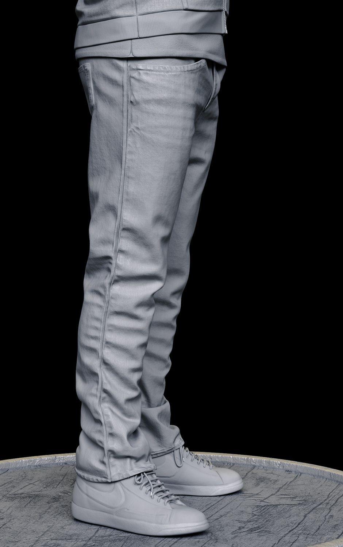 Average Clothes by Pietro Berto Realistic 3D