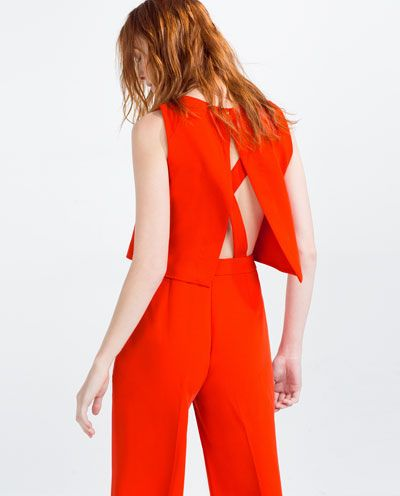 95b99a2ab8 Image 1 of LONG LAYERED JUMPSUIT from Zara
