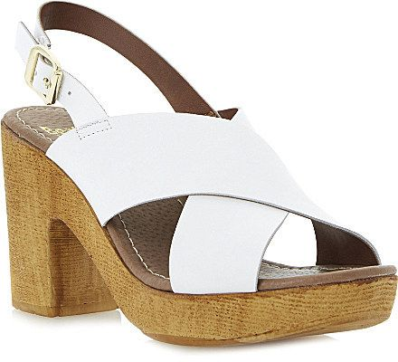 Bertie Heeley slingback platform sandals on shopstyle.co.uk