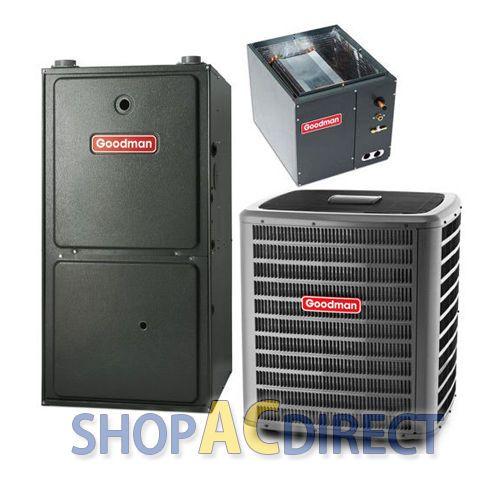 2 5 Ton Ac 80 000 Btu 80 Goodman Gas Furnace Gsx130301 Gmh80803b Capf3030b6 Gas Furnace Furnace 5 Ton Ac